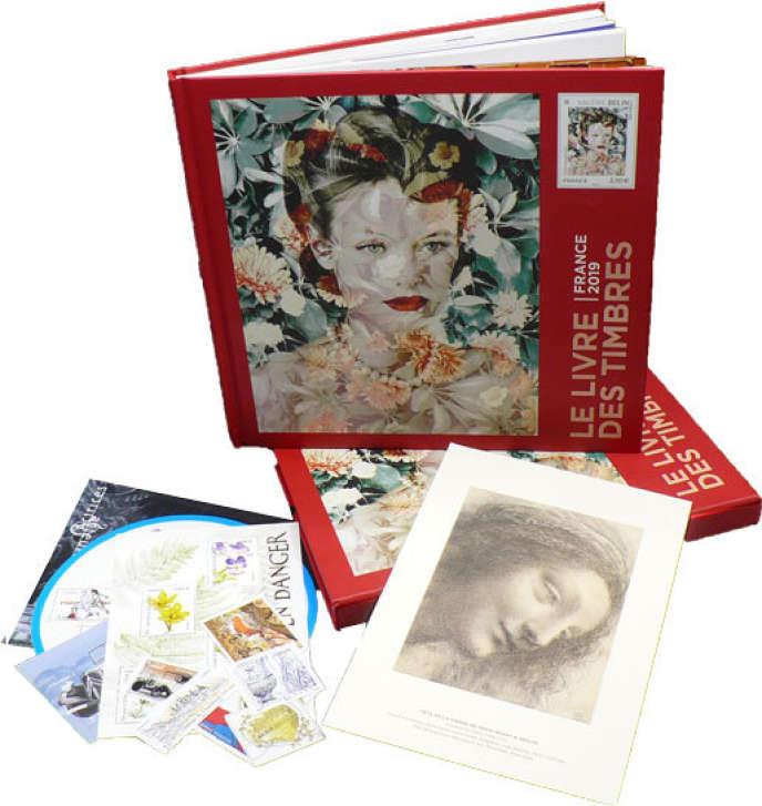 « Le Livre des timbres. France 2019 », d'Elisabeth Dumont-Le Cornec et Benjamin Peyrel. La Martinière, 144 pages, 25 euros sans les timbres, 101 euros avec les timbres.