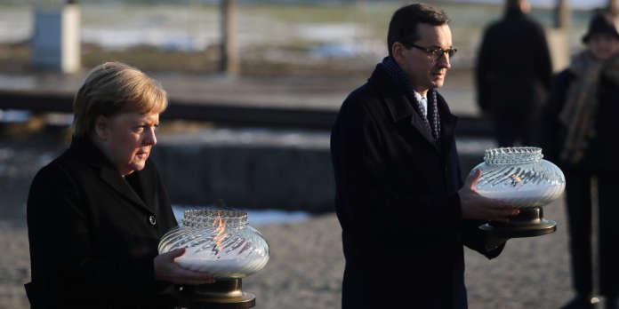 A Auschwitz-Birkenau, les mots historiques d'Angela Merkel