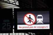 Gare de l'Est, le 7 décembre.