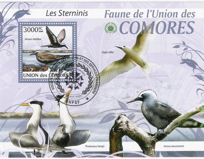 Bloc-feuillet cadeau offert avec« Atout timbres».