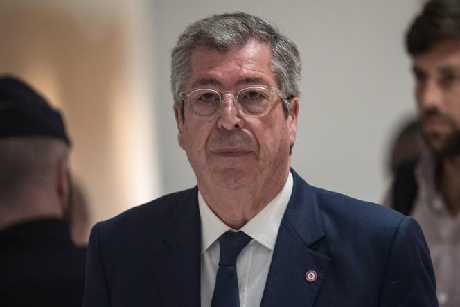 Patrick Balkany lors de son procès pour fraude fiscale le 13 mai à Paris.