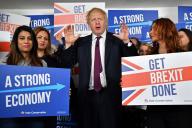Boris Johnson, à Londres, le 8 décembre 2019.
