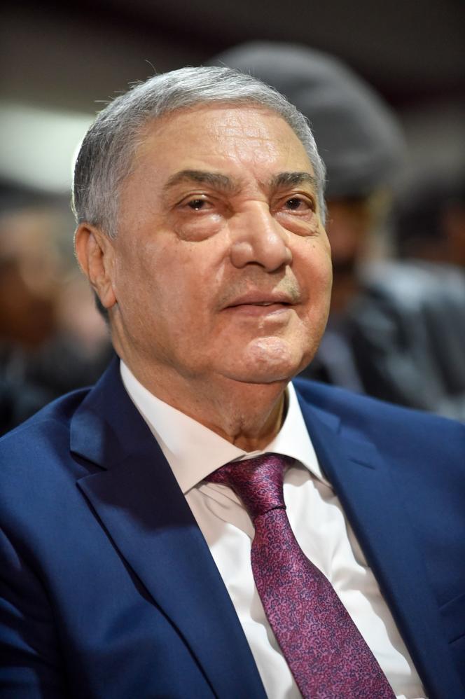 Ali Benflis, 75 ans, ancien premier ministre d'Abdelaziz Bouteflika, est candidat pour la troisième fois. AAlger, le 10 novembre.