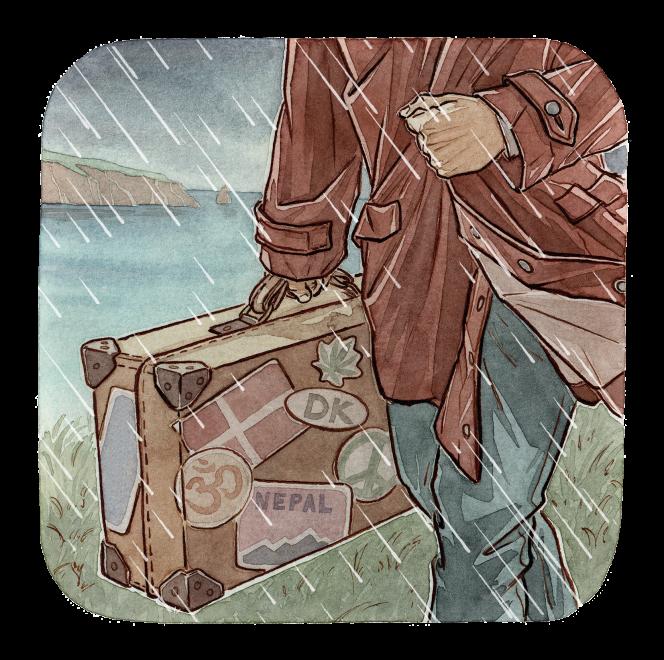 Nina Almberg tente de reconstituer la vie rocambolesque de son père, grand voyageur épris d'aventure.