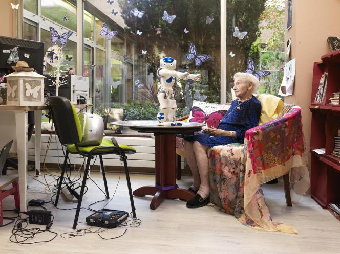 Photo tirée de la série «Archives» de l'artiste Yves Gellie, actuellement présentée au Musée d'art contemporain de Marseille dans le cadre de l'exposition «Un amour de collection séquence 2». Travail réalisé avec l'aide du laboratoire Lusage, à l'hôpital Broca (Paris, 13e).
