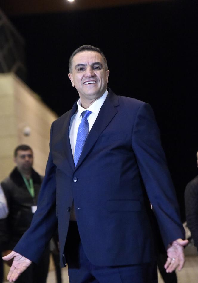 Abdelaziz Belaïd, 56 ans, leader du Front El Moustakbal, à Alger, le 6 décembre.