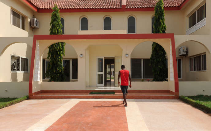 L'Institut Diambars, à Saly, au Sénégal, en novembre 2013.