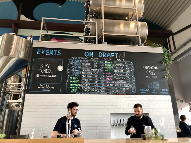 Le restaurant et bar à bières Broaden & Build.