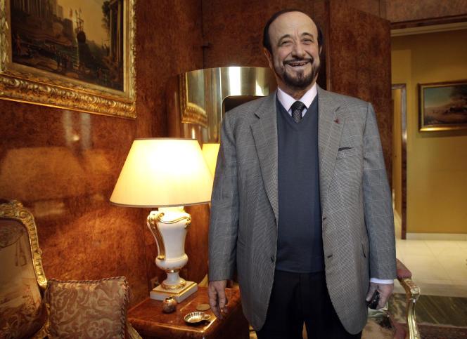 Rifaat al-Assad fut contraint à l'exil en 1984 après un coup d'Etat manqué contre son frère Hafez al-Assad, père de l'actuel président Bachar al-Assad – ici, à Paris.