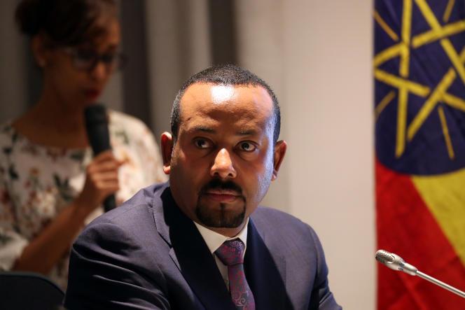 Le premier ministre éthiopien, Abiy Ahmed, à Addis-Abeba, le 7décembre 2019.