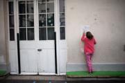 Dans une école parisienne, en septembre.