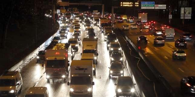 Grève dans les transports: plus de600km debouchons enIle-de-France
