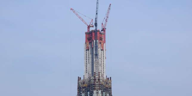 En Chine, la construction des gratte-ciel en panne