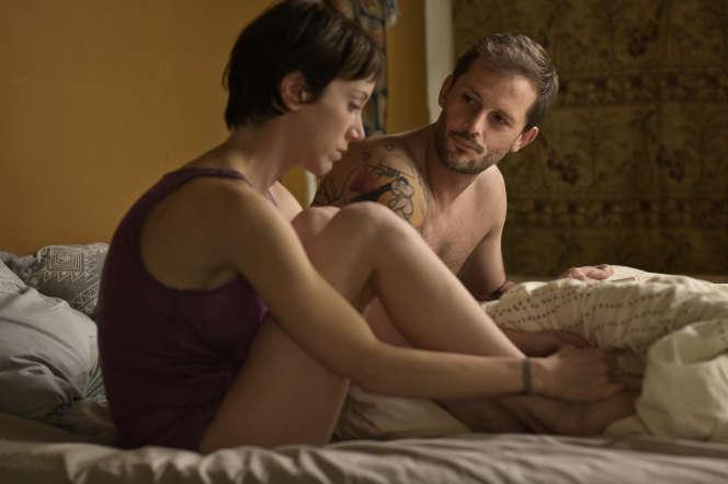 Sara Giraudeau (Coline) et Nicolas Duvauchelle (Simon).