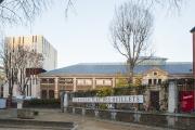 Le Théâtre des quartiers d'Ivry (La Manufacture des Œillets) en novembre 2016.