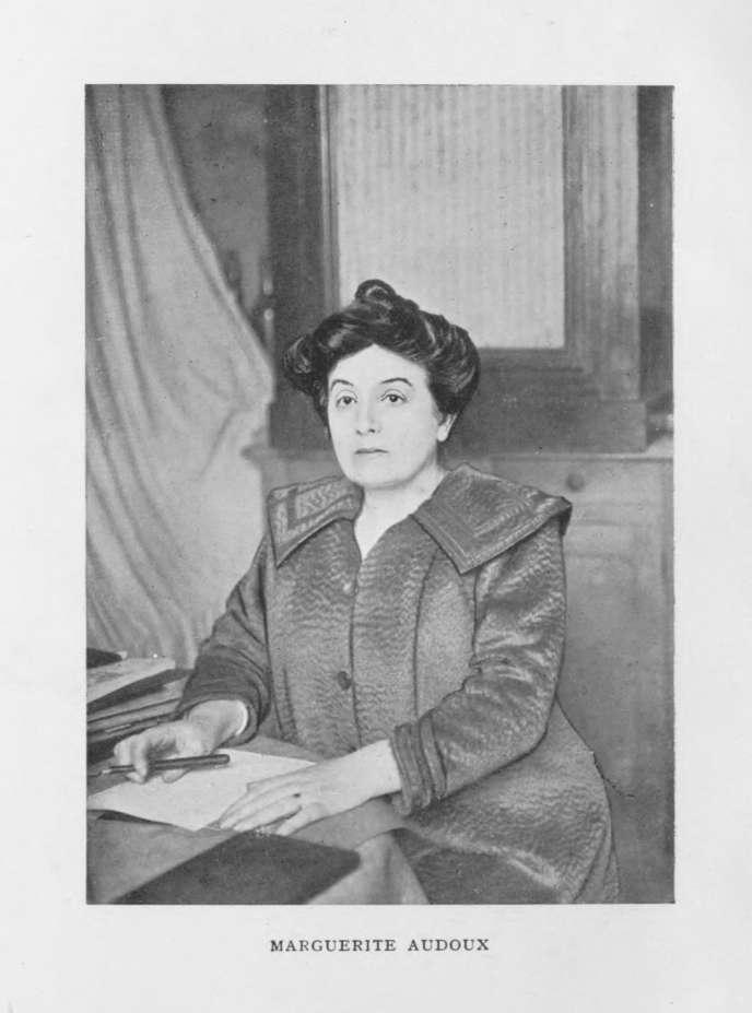 L'écrivaine Marguerite Audoux (1863-1937).