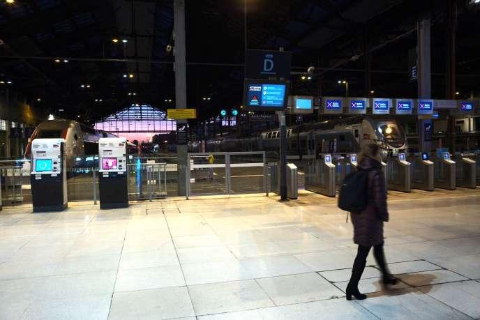 Gare de Lyon à Paris, le 10 décembre.