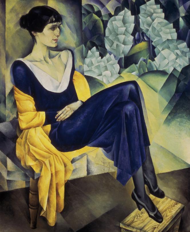 «Portrait d'Anna Akhmatova», de Nathan Altman (1914). Musée russe, Saint-Pertersbourg.