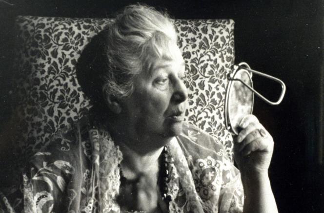 La poète russe Anna Akhmatova, photo non datée.