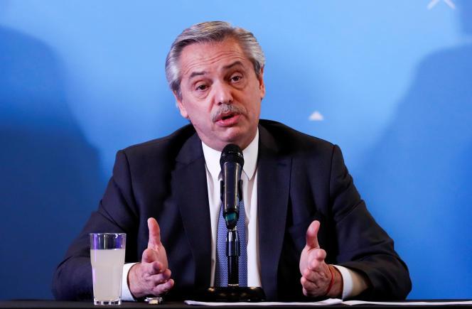 Alberto Fernandez présente son gouvernement, vendredi 6 décembre, à Buenos Aires. Le président élu prend ses fonctions mardi 10 décembre.