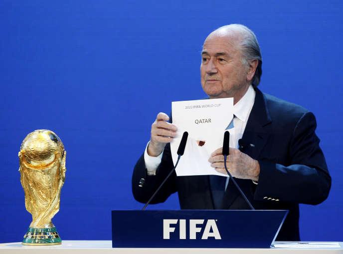 La justice américaine affirme que plusieurs dirigeants d'instances du football ont reçu de l'argent pour orienter leur vote lors de l'attribution au Qatar de la Coupe du monde 2022.