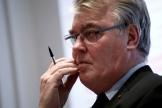 Jean-Paul Delevoye, le haut-ommissaire à la réforme des retraites, à Paris, le 10 décembre.