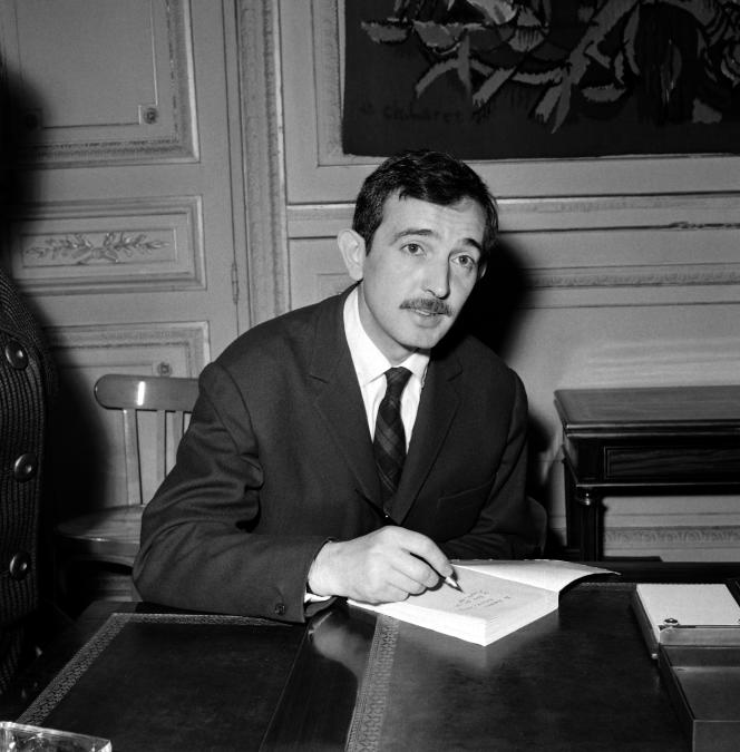 Denis Lalanne en 1959.