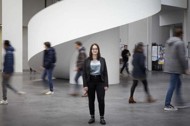 Justine Guerry, étudiante à la faculté de médecine de Nantes.