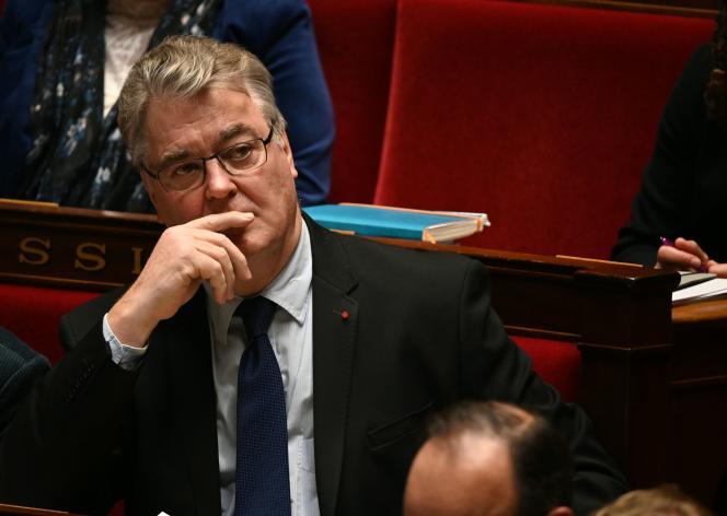 Le haut-commissaire à la réforme des retraites, Jean-Paul Delevoye, à l'Assemblée nationale, à Paris, le 10 décembre.