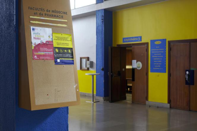 A la faculté de médecine et de pharmacie de Nantes, en décembre 2019.