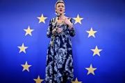 La commissaire européenne à la concurrence et au numérique, Margrethe Vestager, à Copenhague, le 29 novembre.