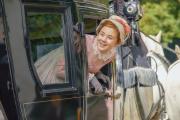 L'actrice britannique Claudia Jessie dans la série«La Foire aux vanités».