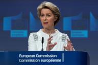 Ursula von der Leyen, le 4 décembre, à Bruxelles.