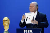 Football: accusation de pots-de-vin pour l'attribution du Mondial à la Russie et au Qatar