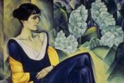 Portrait d' Anna Akhmatova par Nathan Altman, 1914.