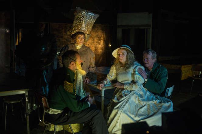 Lors d'une répétition de la pièce«Item» par le Théâtre du Radeau, à La Fonderie au Mans, en octobre 2019.