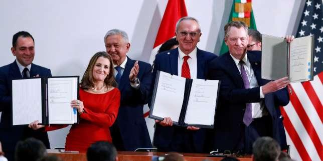 Libre-échange: les Etats-Unis en passe de ratifier l'accord avec le Canada et le Mexique