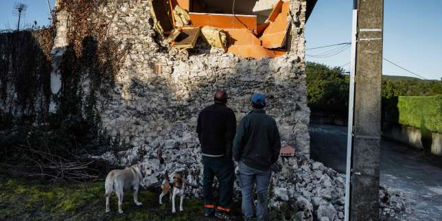 En Ardèche, Le Teil panse ses plaies après le tremblement de terre du 11novembre