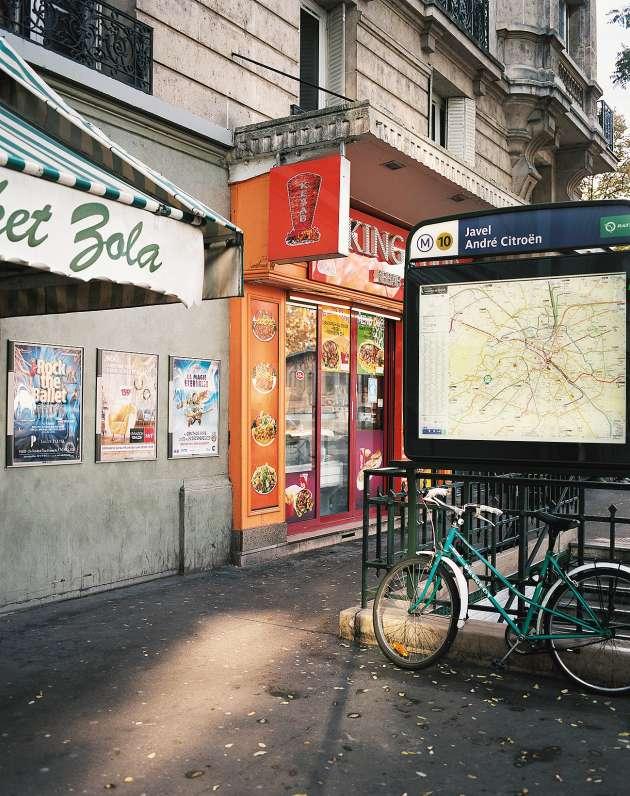 A Paris, dans le 15e arrondissement.
