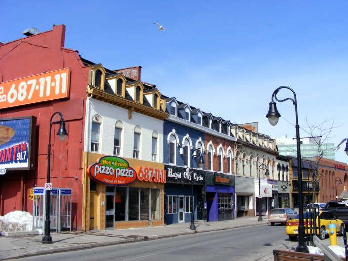 St. Paul Street, à St. Catharines (Ontario), en 2008.