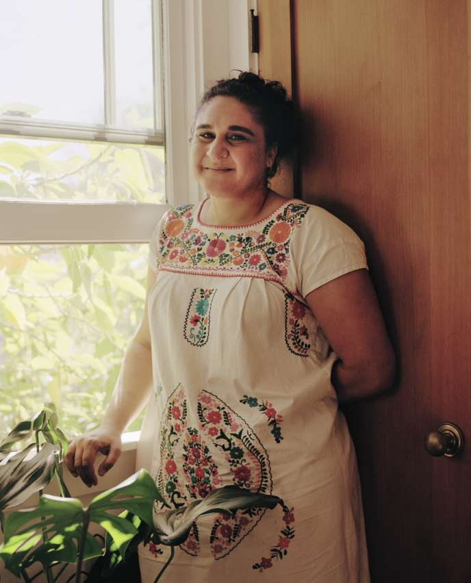 Samin Nosrat at her home in Oakland, California on November 1.