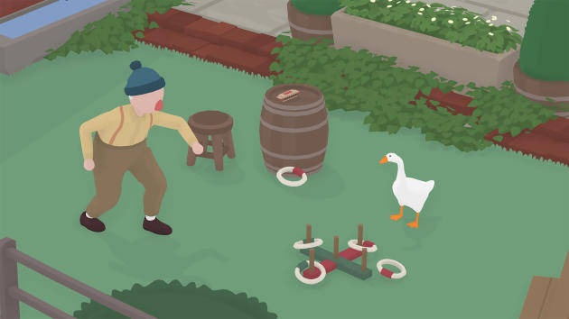L'oie d'«Untitled Goose Game»joue pour ainsi dire à domicile dans ce jeu de l'oie.