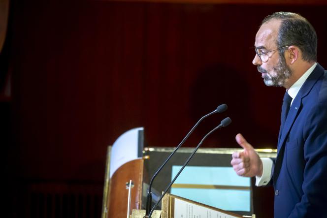 Le premier ministre Edouard Philippe dévoile les détails du plan de réforme des retraites, à Paris, le 11 décembre.