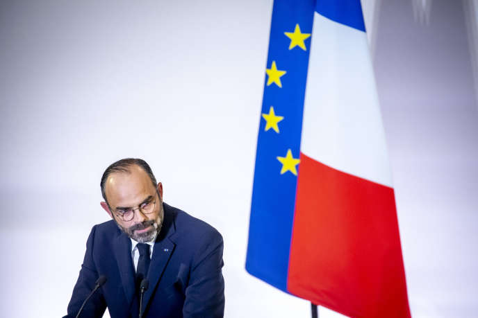 Le premier minsistre, Edouard Philippe, lors de la présentation de la la réforme des retraites, à Paris, le 11 décembre 2019.