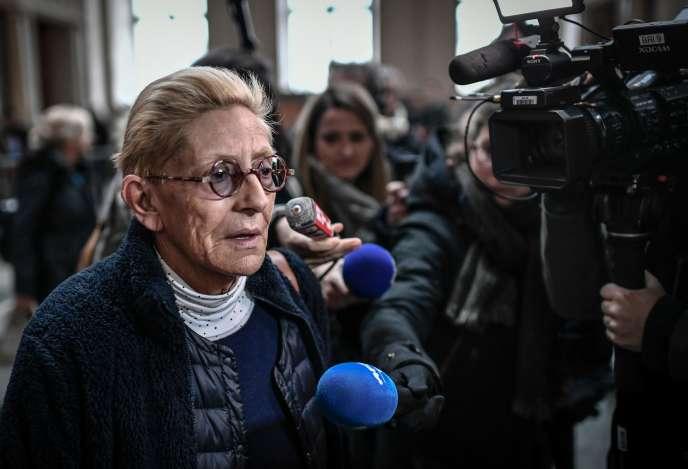 Isabelle Balkany, lors de l'ouverture du procès en appel pour fraude fiscale, le11décembre à Paris.