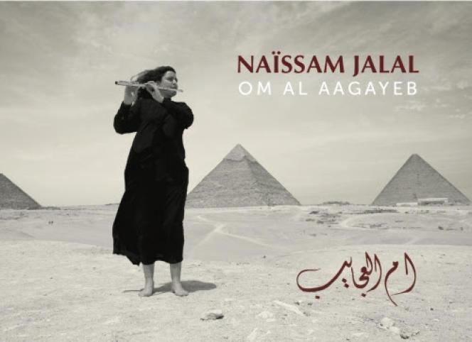 Pochette de l'album« Om Al Aagayeb», de Naïssam Jalal.