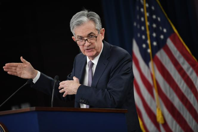 Le président de la Fed, Jerome Powell, à Washington, le 11 décembre.