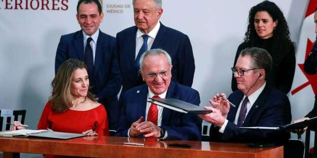 Libre-échange: l'accord entre les Etats-Unis, le Canada et le Mexique éloigne le spectre d'une nouvelle guerre commerciale