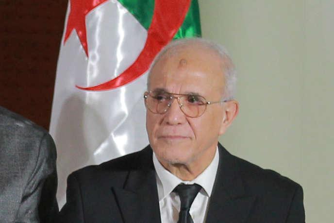 Mohamed Charfi, à Alger, le 16novembre 2019.