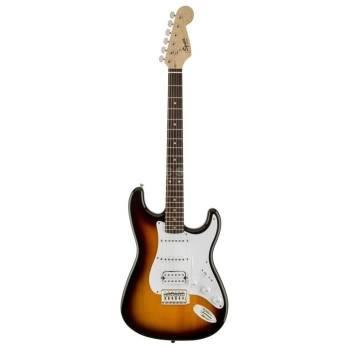 Une guitare abordable à la jouabilité et au son excellents Squier by Fender HSS Bullet Strat